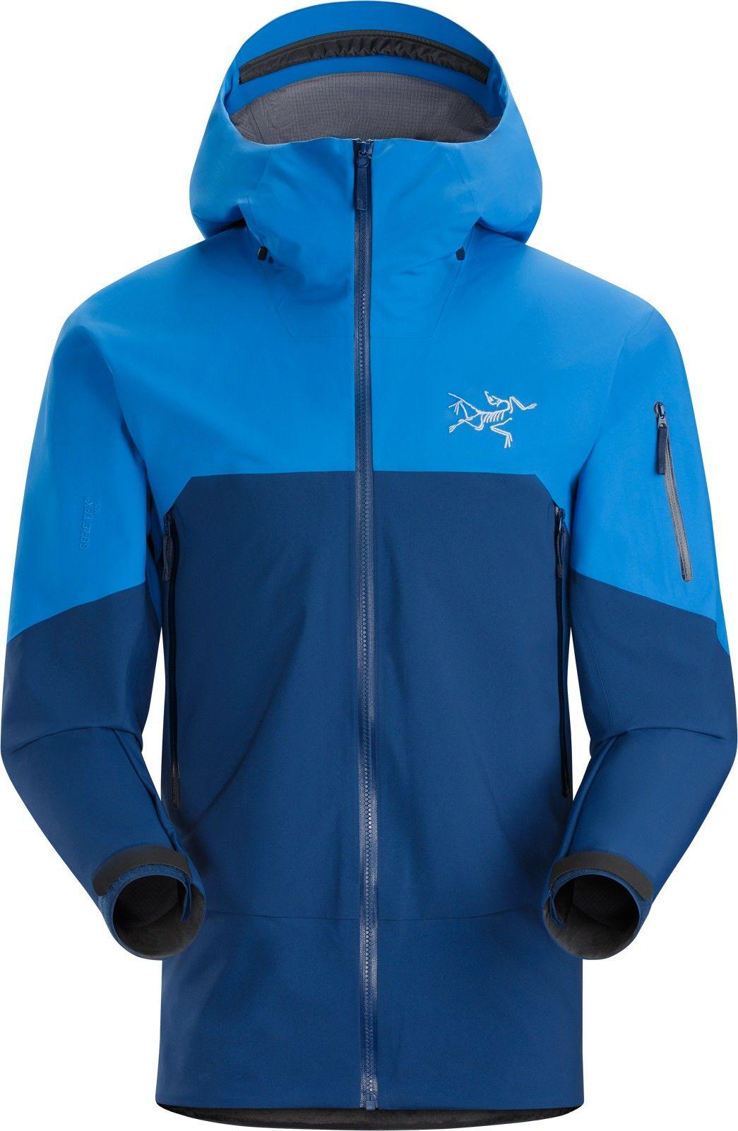 Arcteryx Rush Jacket Colorblock, Male Gore-Tex® Regenjacke & Hardshells, XL
