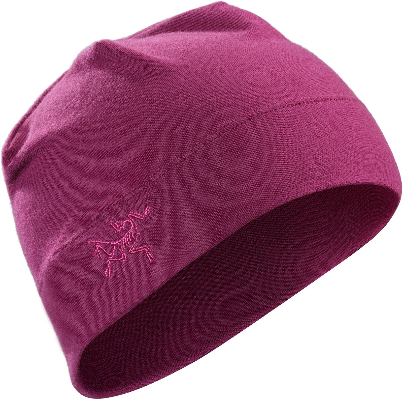 Arcteryx RHO LTW Beanie Pink, Merino Accessoires, One Size