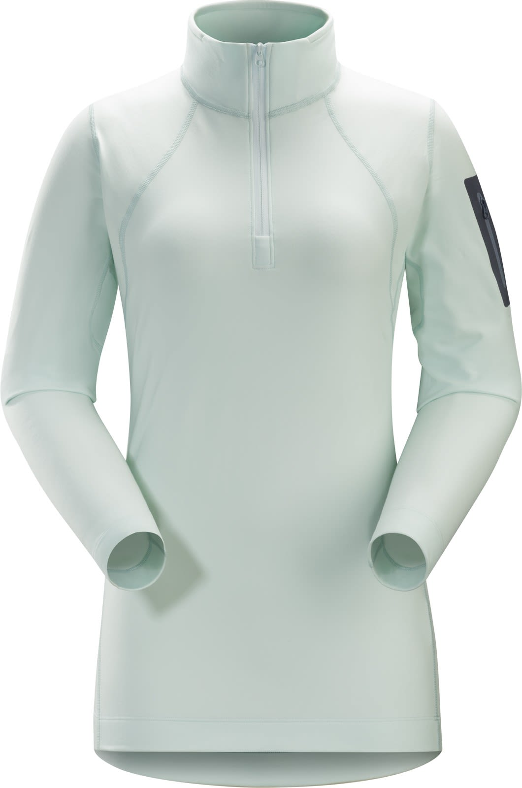 Arcteryx RHO LT Zip Neck Weiß, Female Langarm-Shirt, S