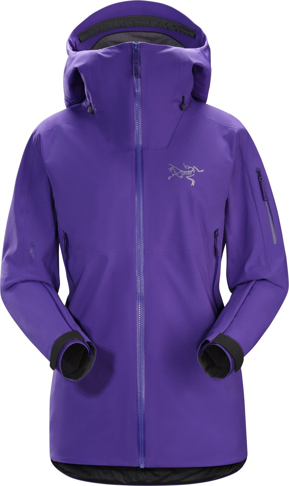 Arcteryx Sentinel Jacket Lila/Violett, Female Gore-Tex® Isolationsjacke, S