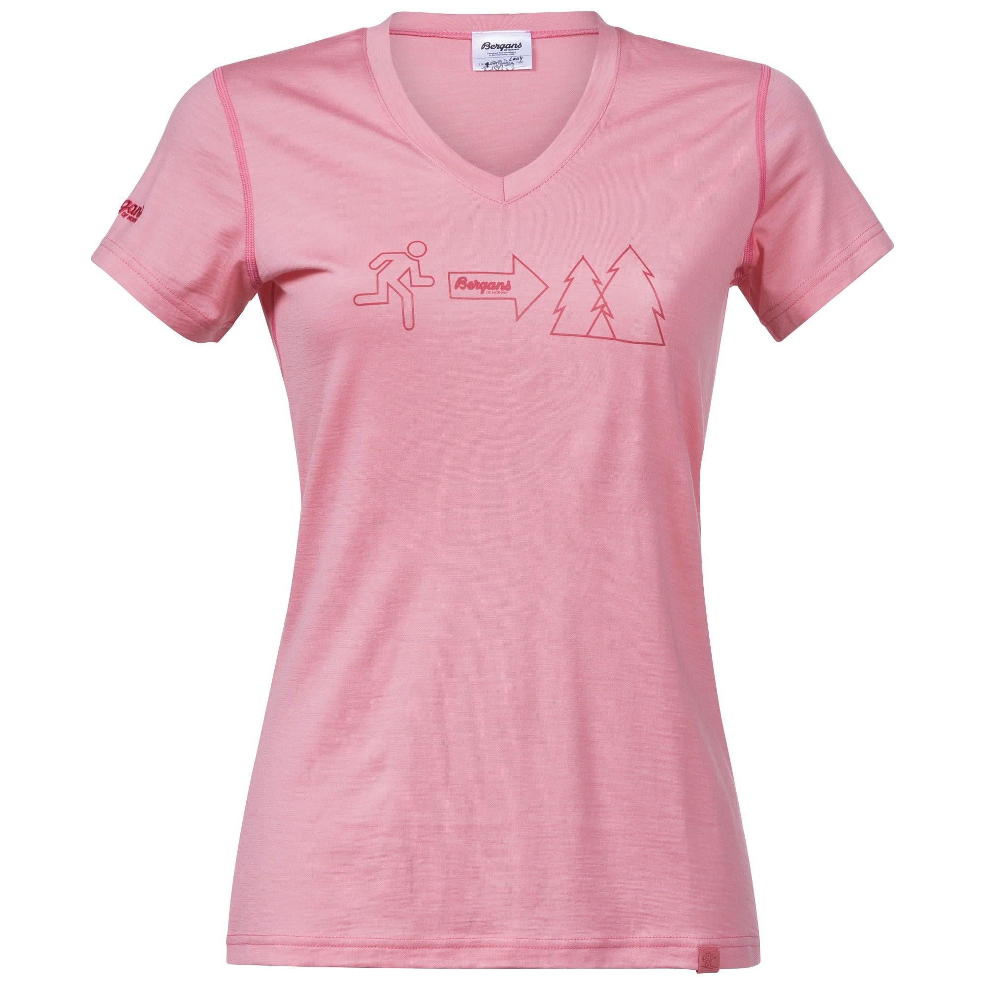 Bergans Exit Wool W Tee | Damen Kurzarm-Shirt