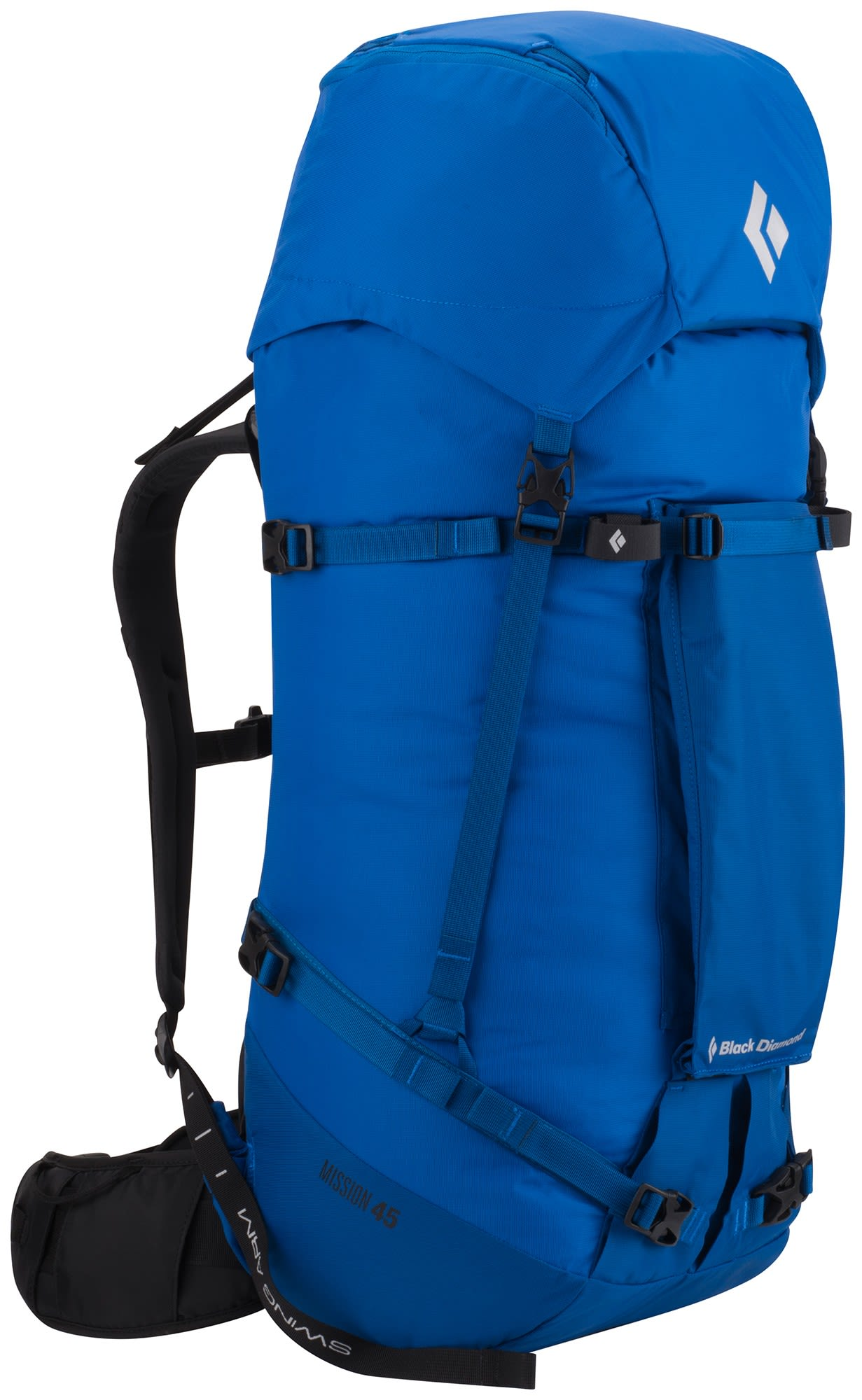 Black Diamond Mission 45 Pack Blau, Alpin-& Trekkingrucksack, M-L