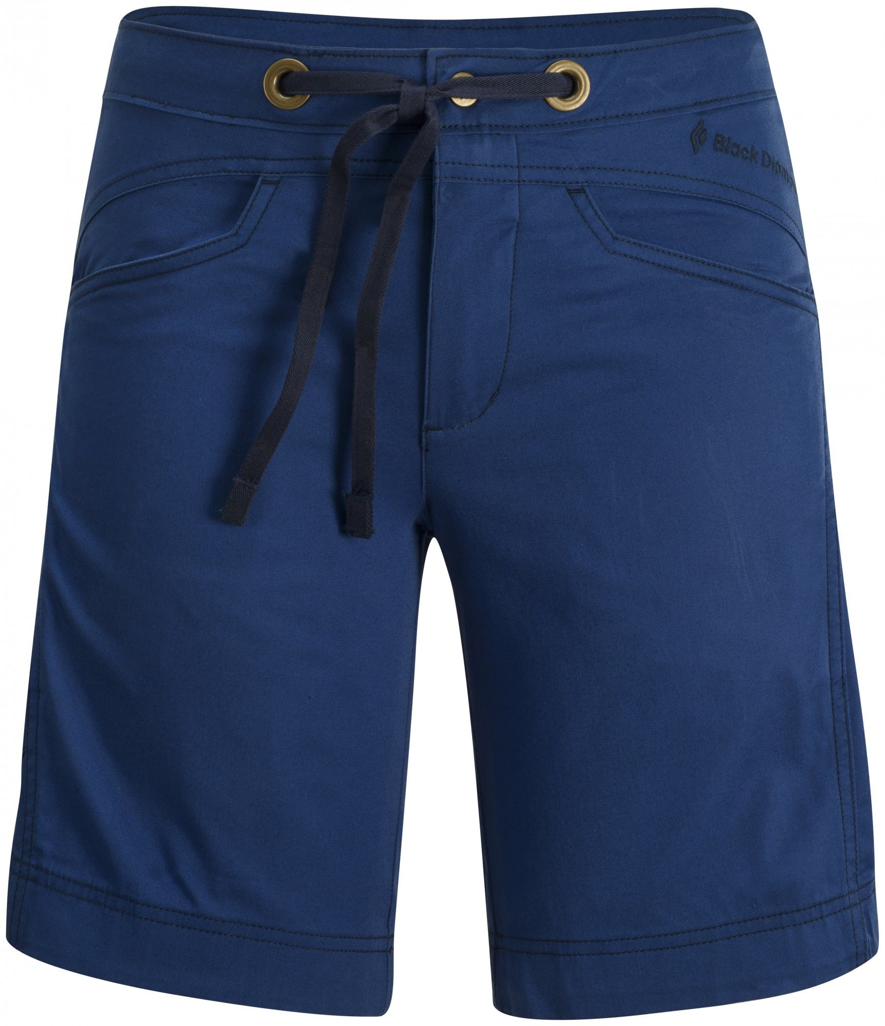 Black Diamond Credo Shorts Blau, Female Shorts, 10