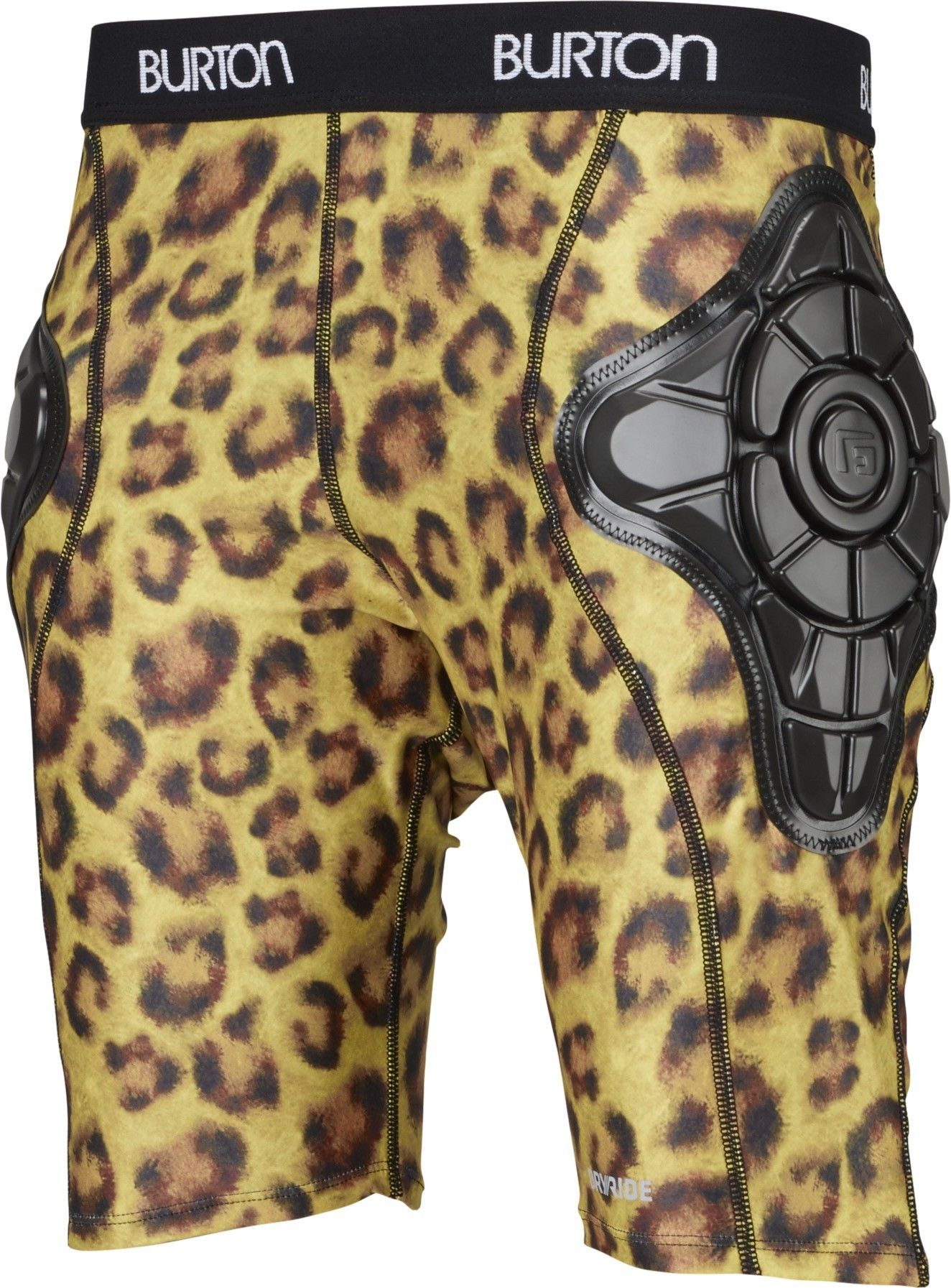 Burton Total Impact Short Protected by G-Form™, Cats Meow Gelb, L