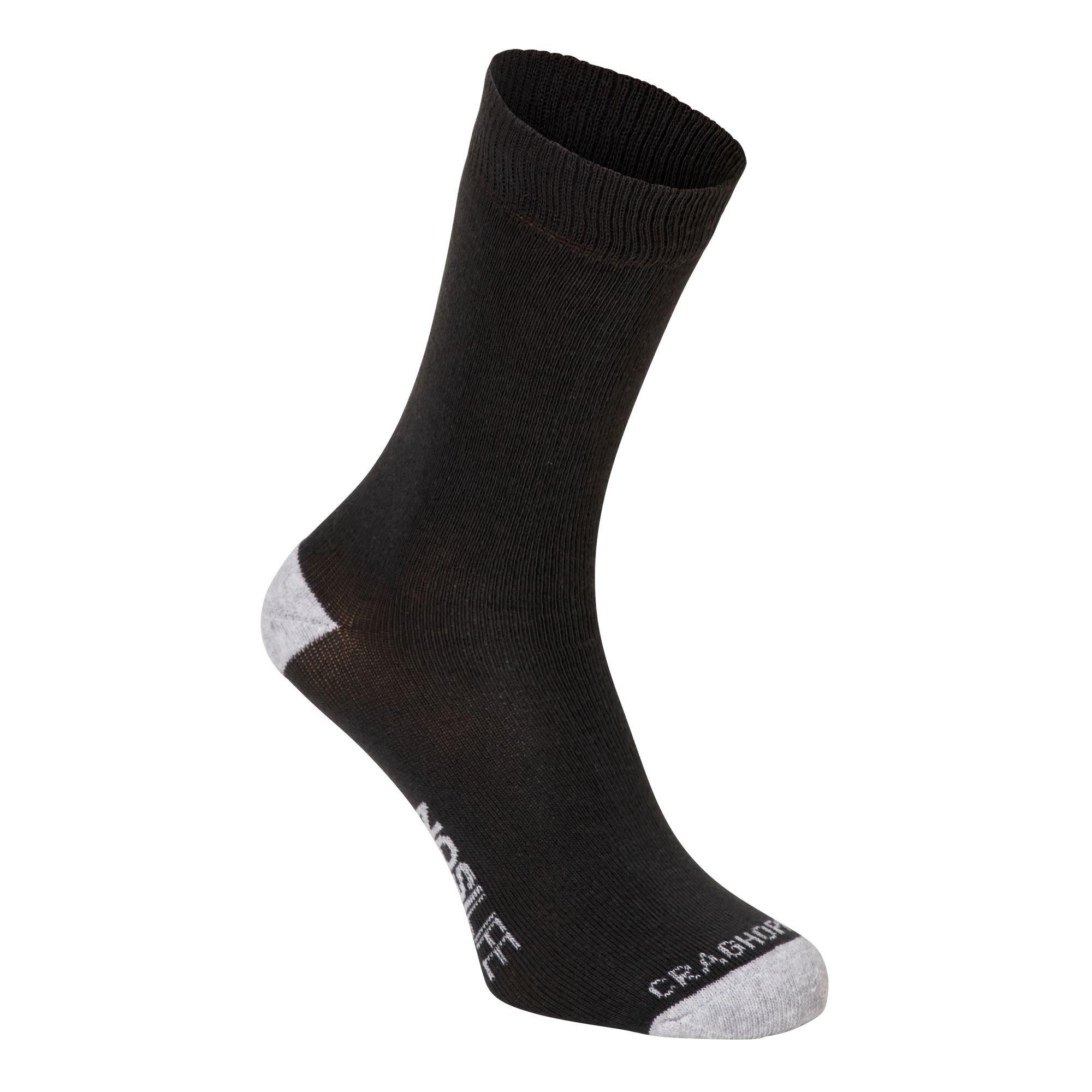 Craghoppers Single Nosilife Travel Socke Grau, Socken, EU 39-42 -UK 6-8
