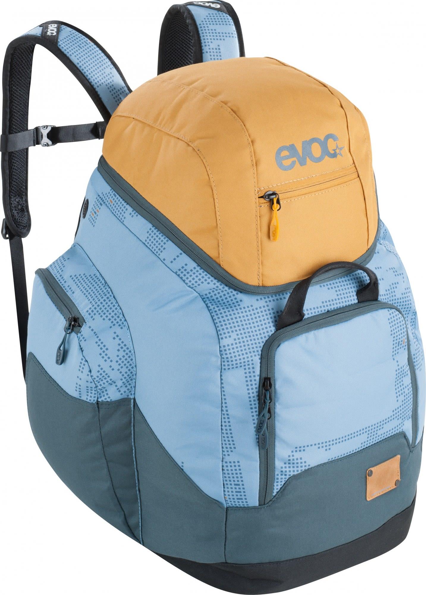 Evoc Boot Helmet Backpack Gelb, Ski-& Tourenrucksack, 60l