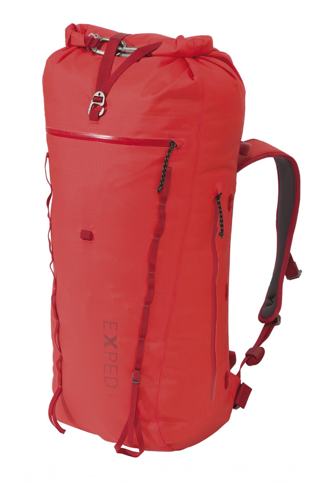 Exped Serac 45, Red | Größe 45l - M |  Alpin- & Trekkingrucksack