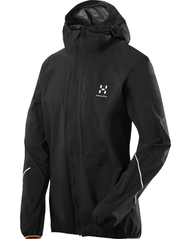 Haglöfs L.I.M Proof Jacket (Modell Winter 2017) Schwarz, Male Freizeitjacke, L