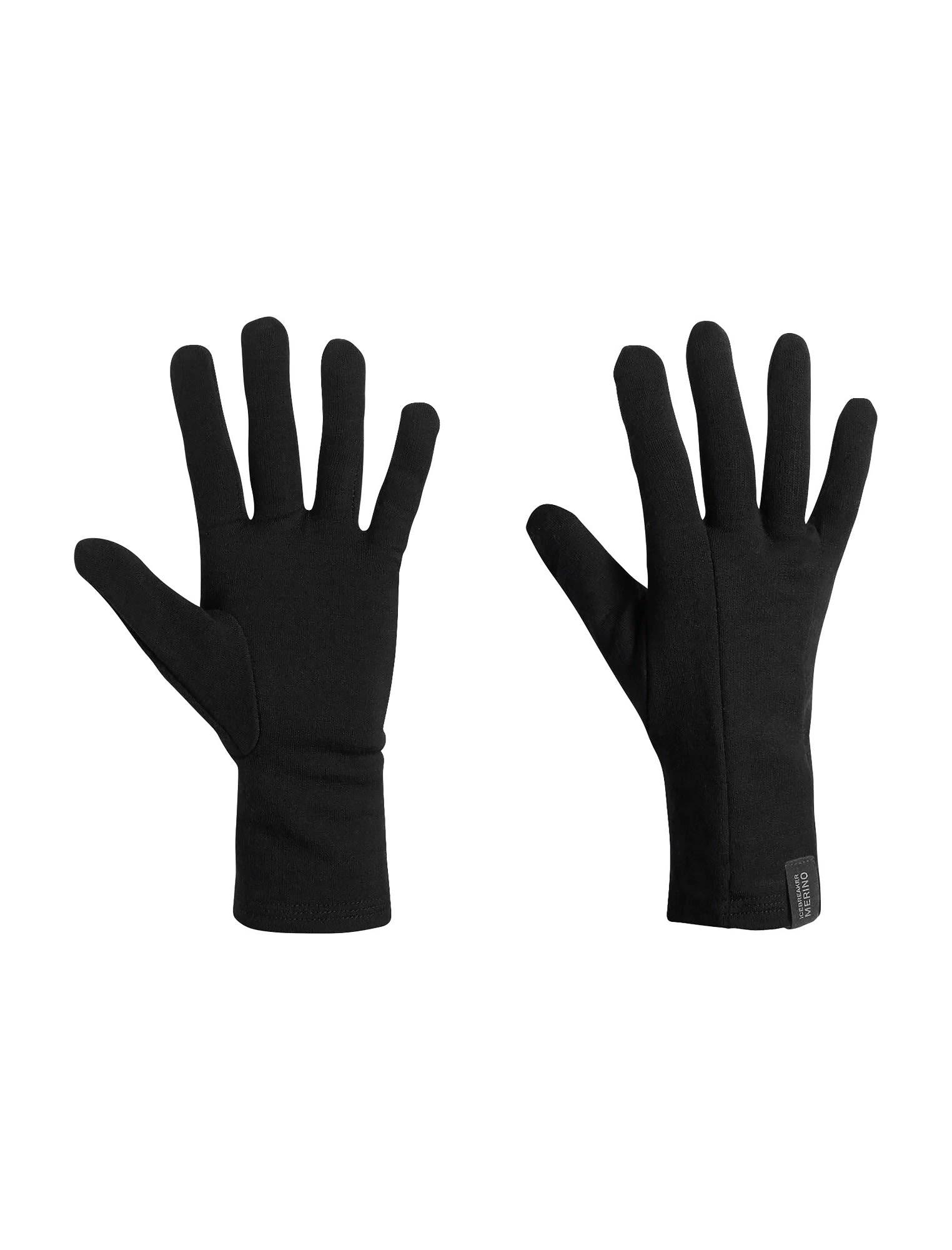 Icebreaker Apex Glove Liners Schwarz, Merino Accessoires, S