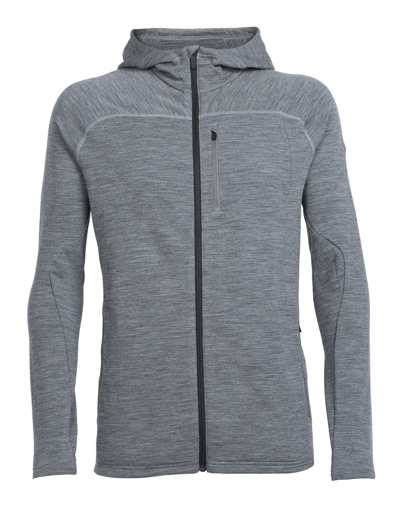 Icebreaker M MT Elliot Long-Sleeve Hood | Herren Fleecejacke