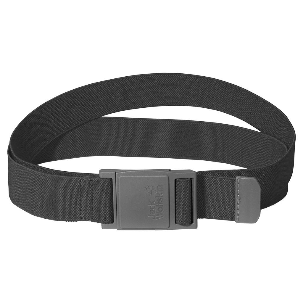 Jack Wolfskin Stretch Belt Grau, One Size -Farbe Dark Steel, One Size