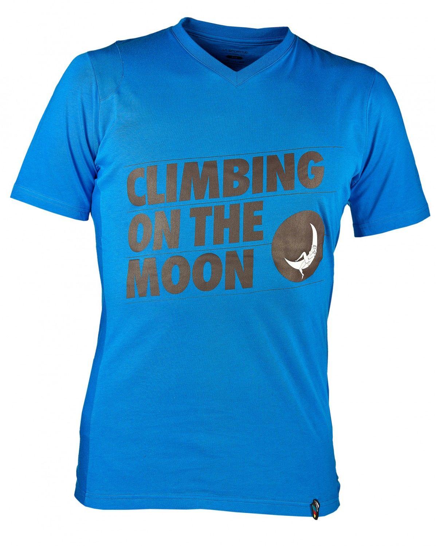 La Sportiva M Climbing ON THE Moon T-Shirt | Herren Kurzarm-Shirt