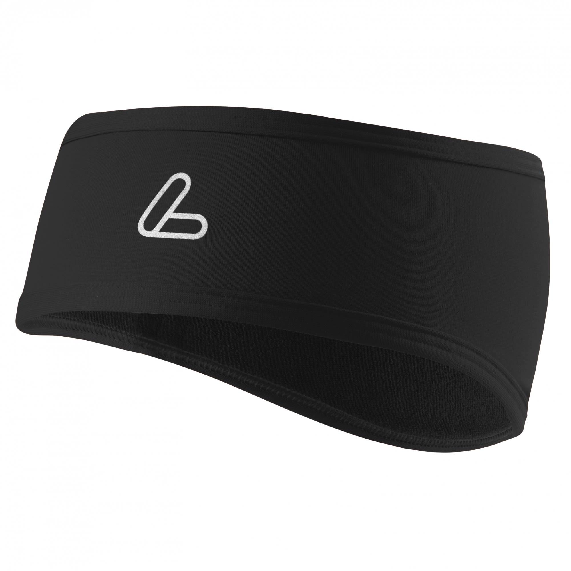 Löffler Mono Stirnband Flaps TVL Schwarz, Accessoires, One Size