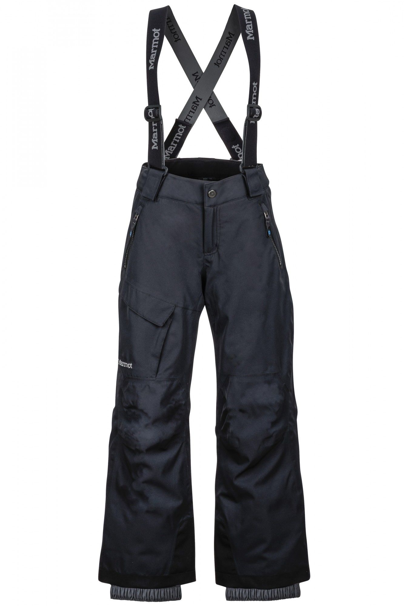 Marmot Boys Edge Insulated Pant Schwarz, Male S -Farbe Black, S