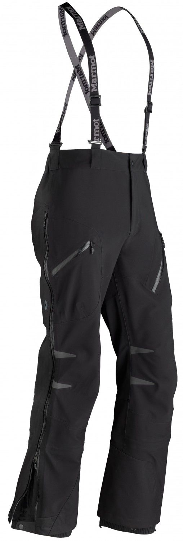 Marmot Misto Pant Schwarz, Male Polartec® Hose, S