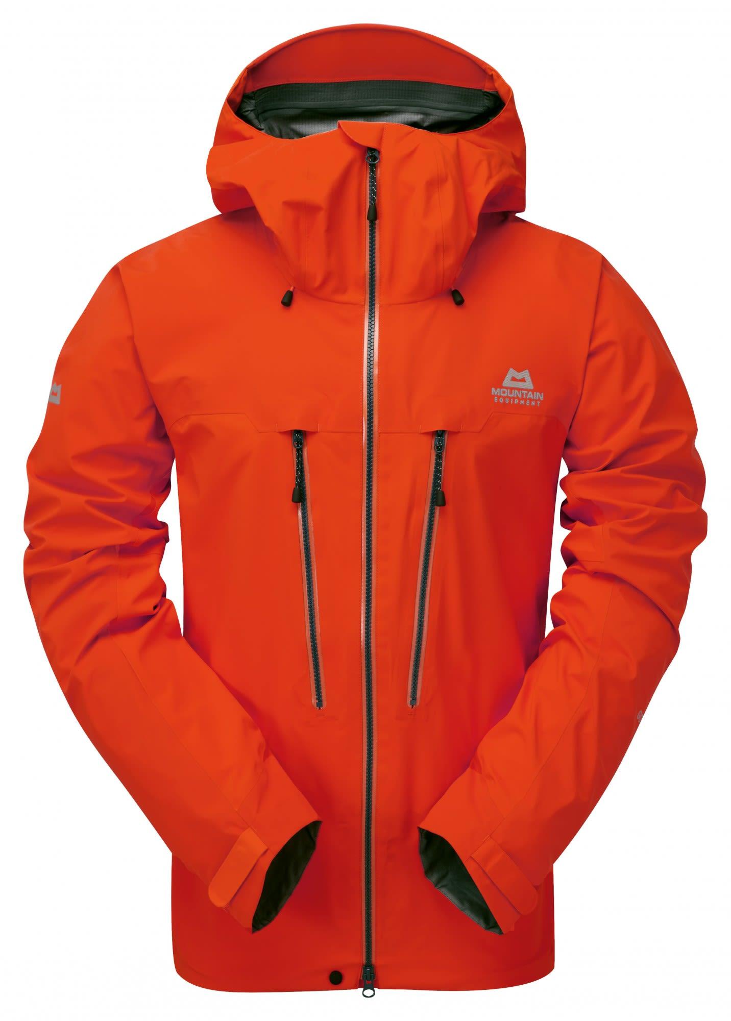 Mountain Equipment M Tupilak Jacket, Cardinal Orange | Herren Freizeitjacke
