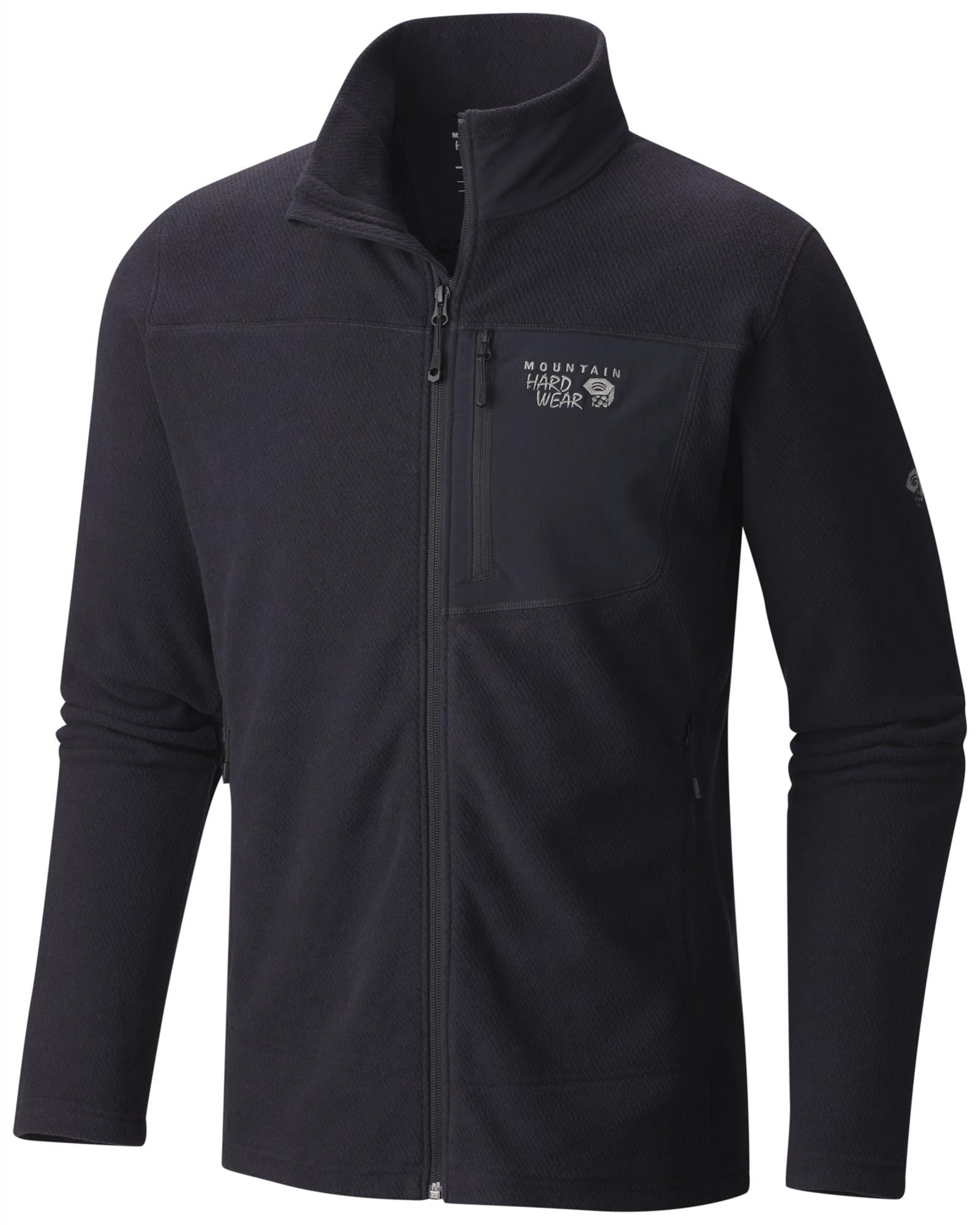 Mountain Hardwear Toasty Twill Jacket Schwarz, Male Fleecejacke, XL