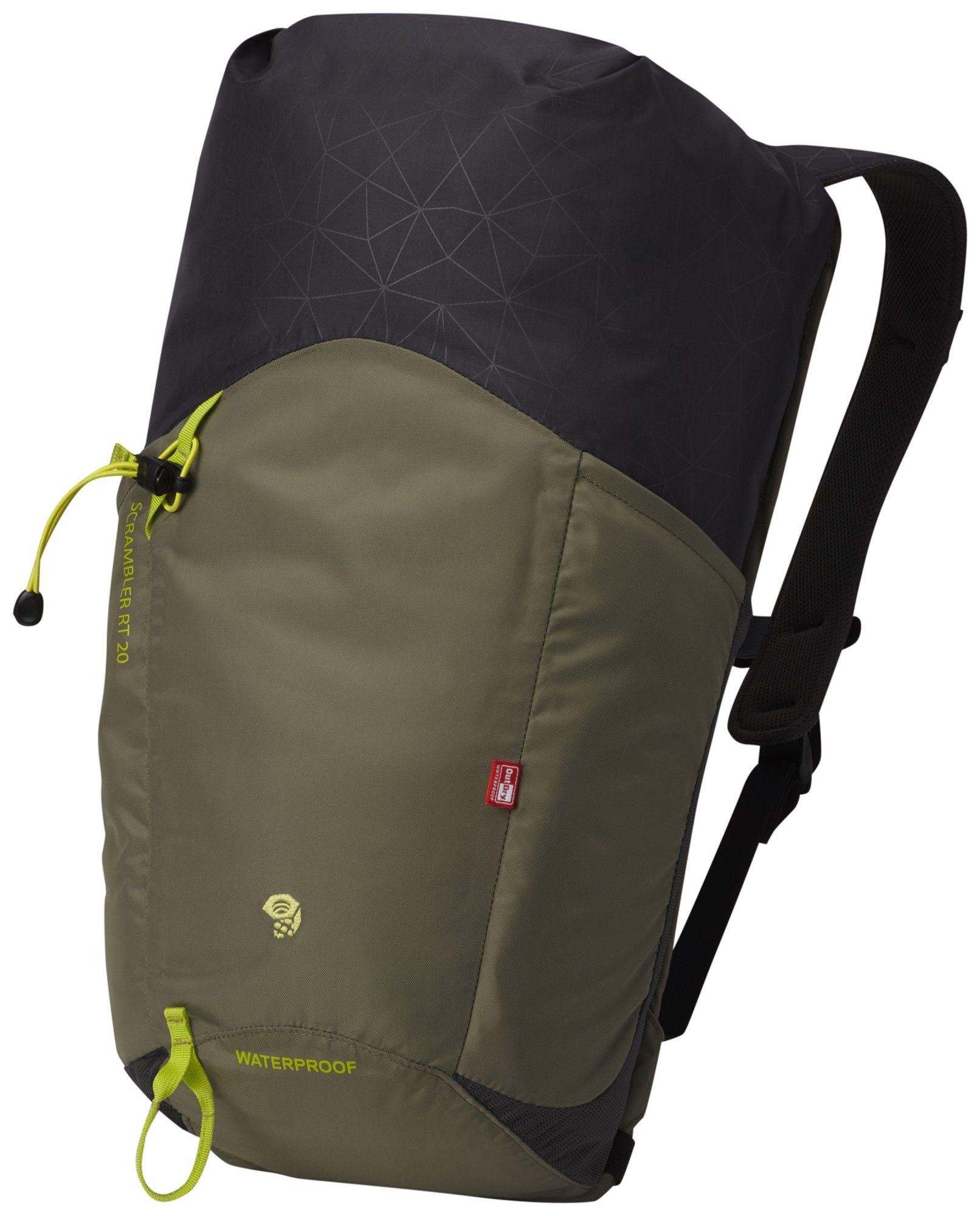 Mountain Hardwear Scrambler RT 20 Outdry Blau, Alpin-& Trekkingrucksack, 20l