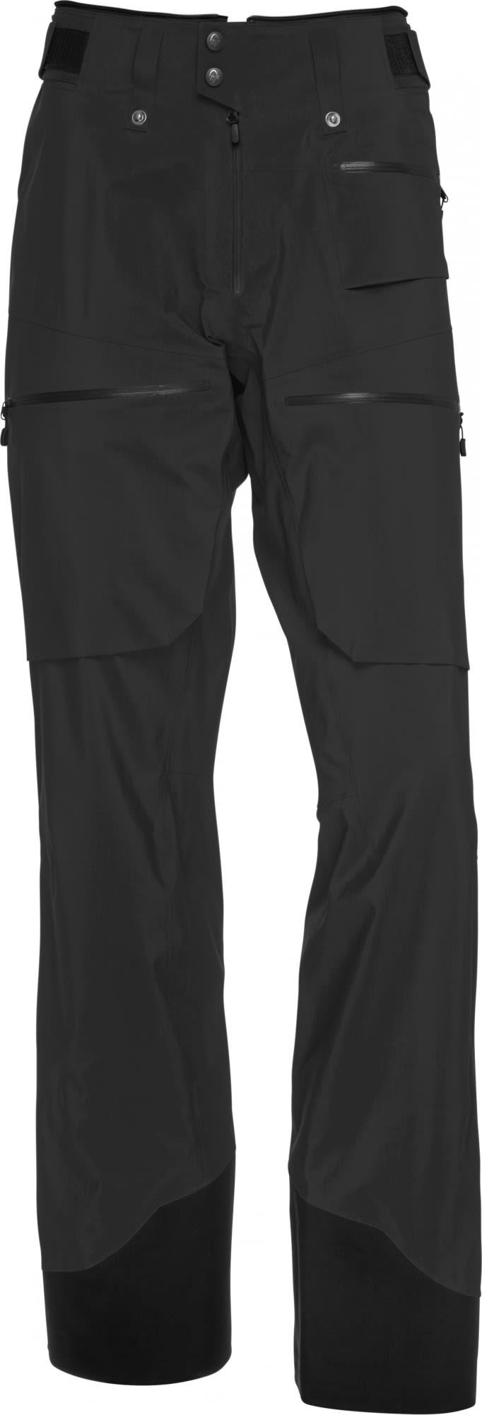 Norrona Lofoten Gore-Tex Pro Light Pants Schwarz, Male Gore-Tex® Hose, L