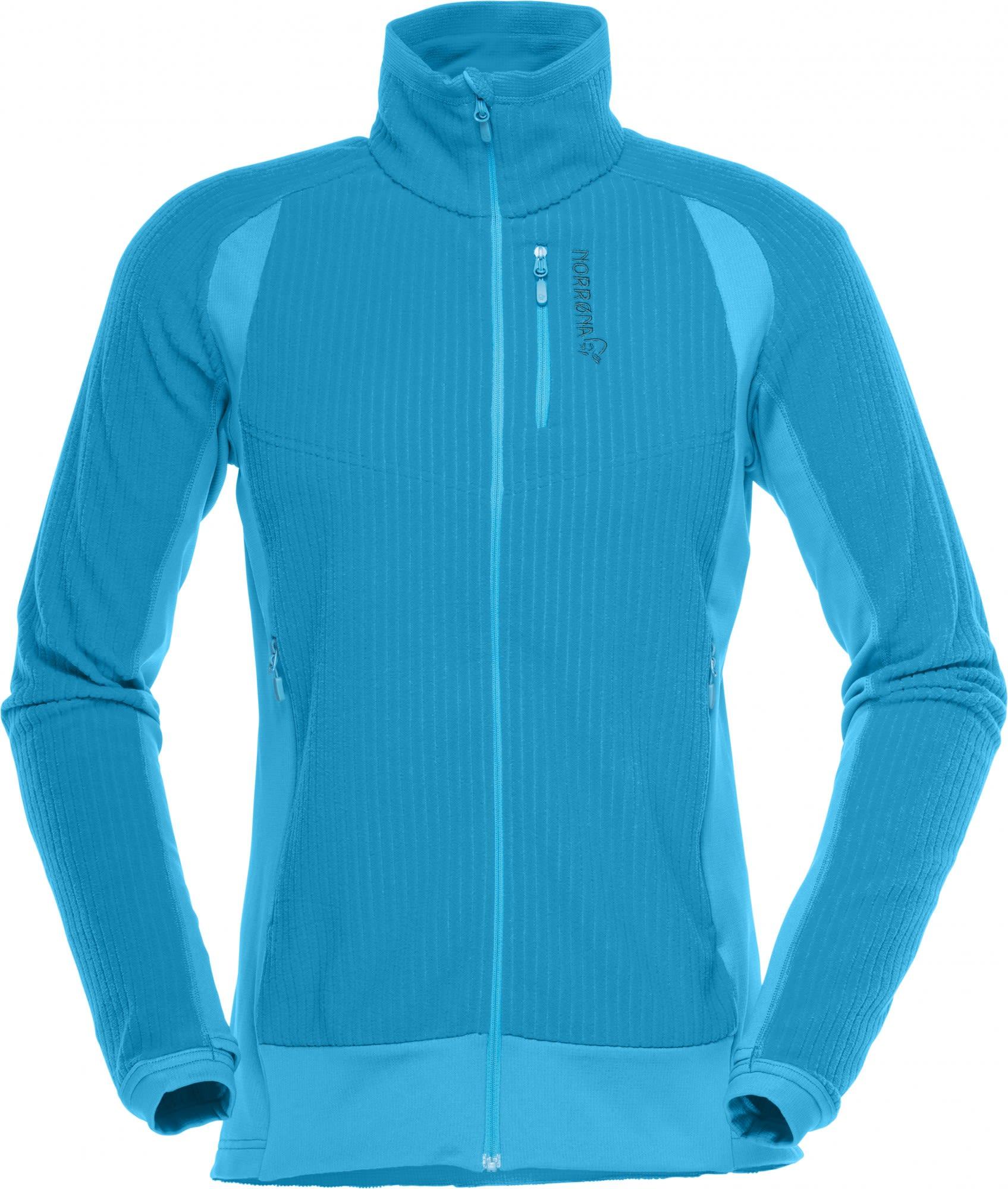 Norrona Lofoten Warm1 Jacket Blau, Female Fleecejacke, M