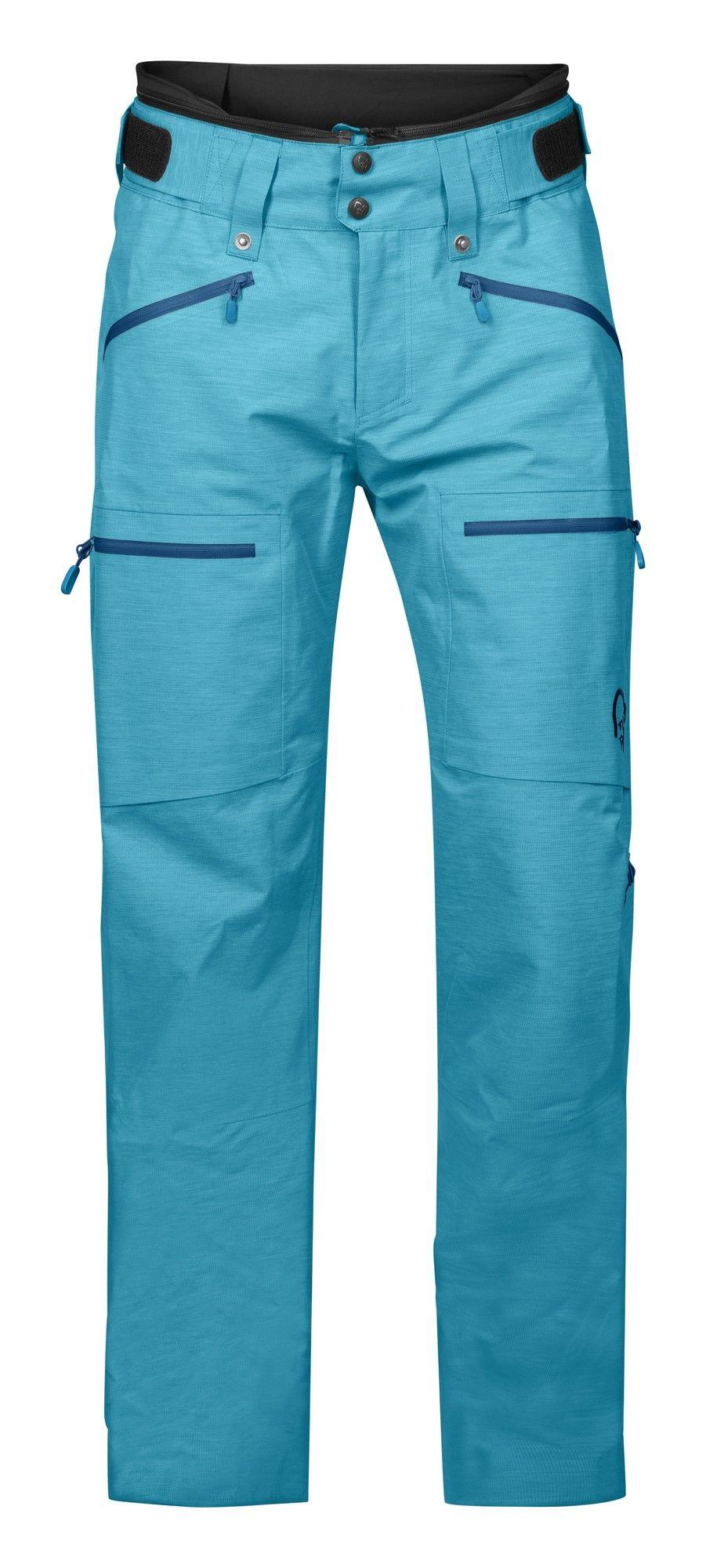 Norrona Roldal Gore-Tex Pants Blau, Female Gore-Tex® Hose, XS