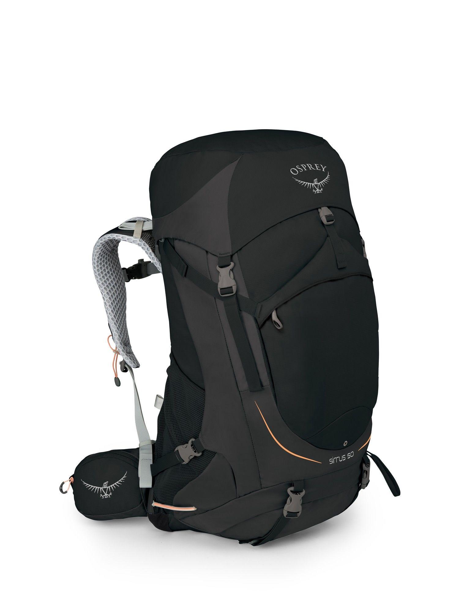 Osprey Sirrus 50, Black | Damen Alpin- & Trekkingrucksack