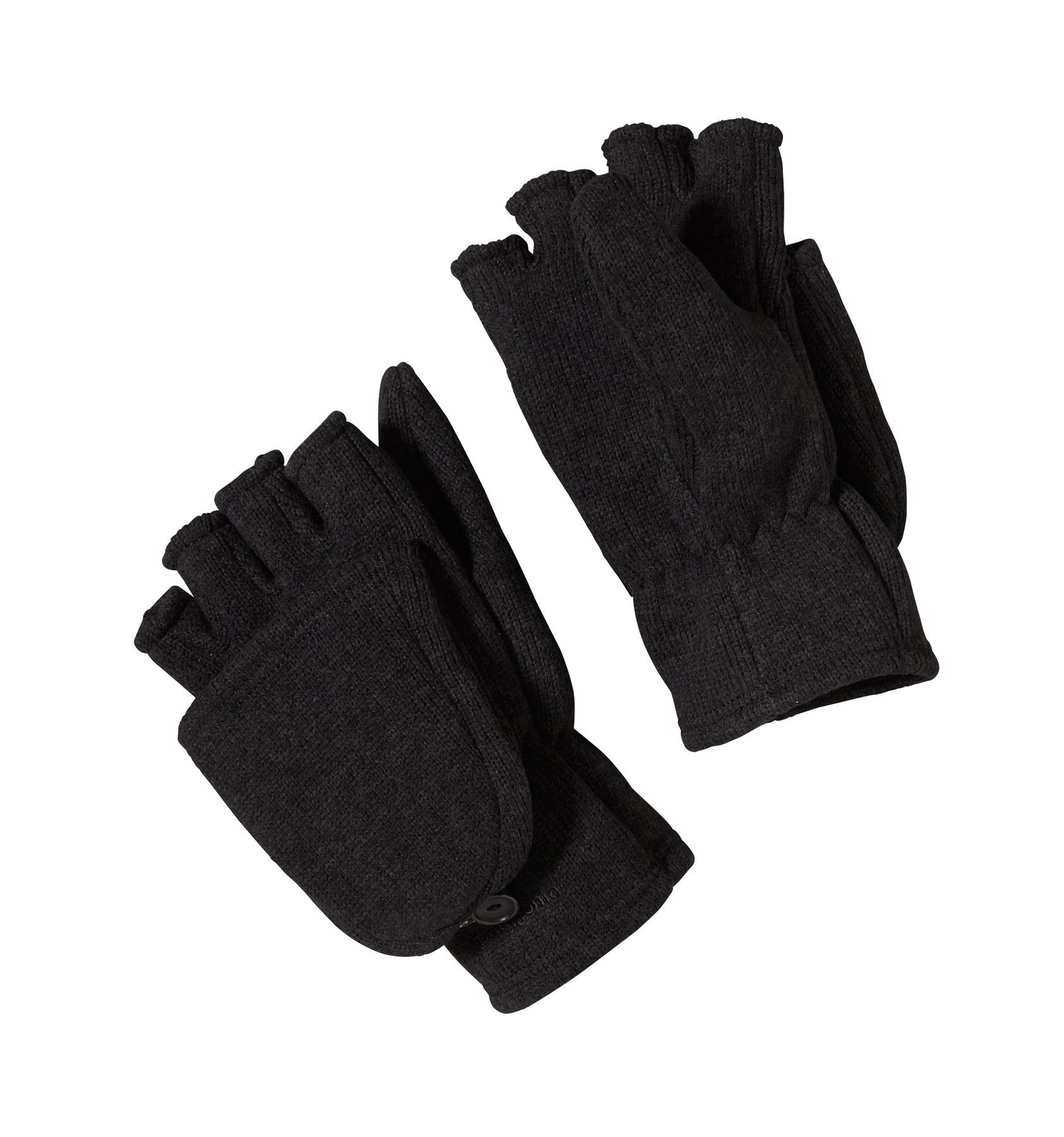 Patagonia Better Sweater Gloves Schwarz, Female Accessoires, XS