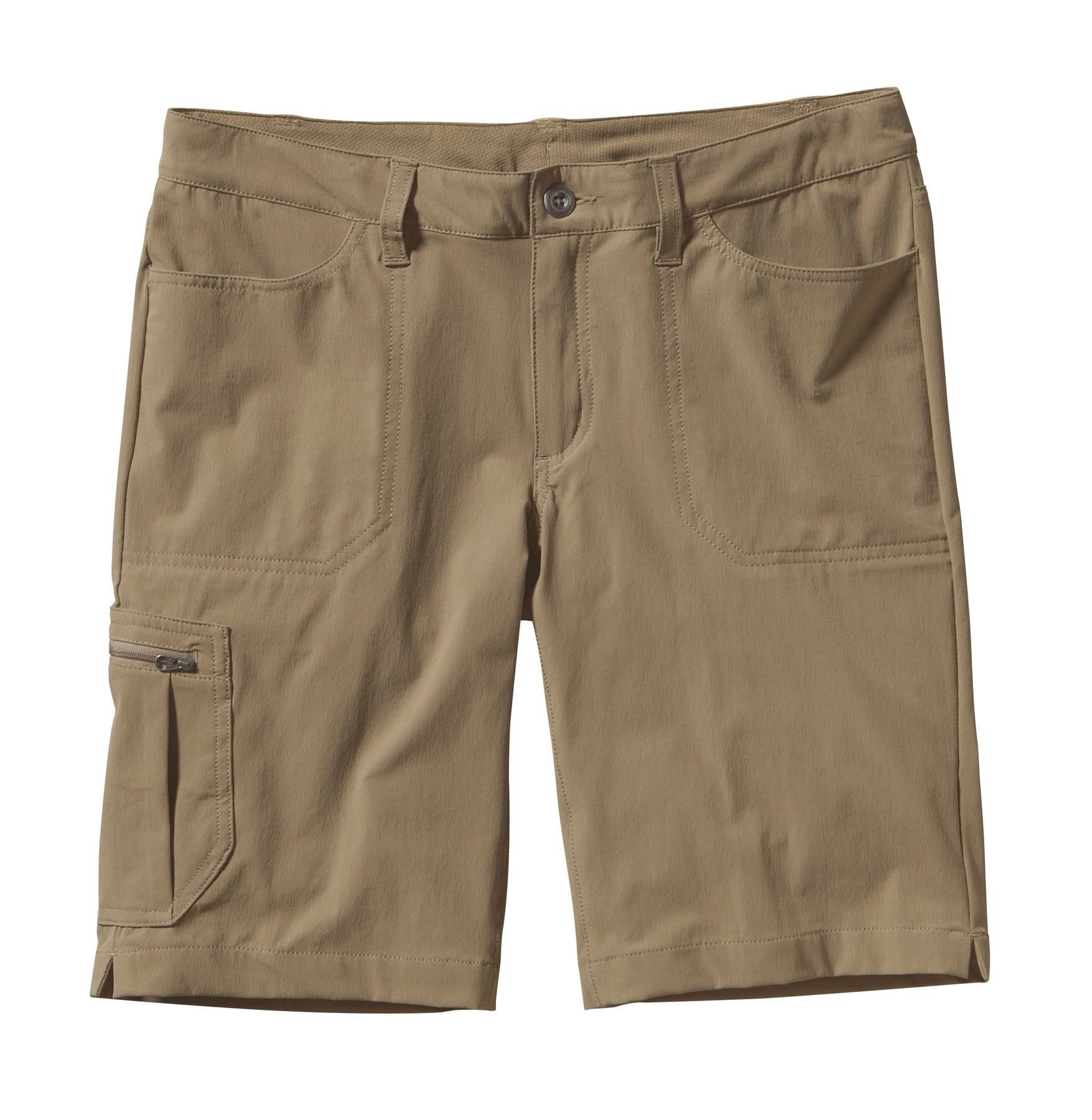 Patagonia Tribune Shorts Beige, Female Shorts, 4