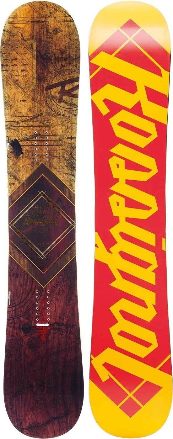Rossignol Templar Magtek Rot, Male Snowboard, 153 cm