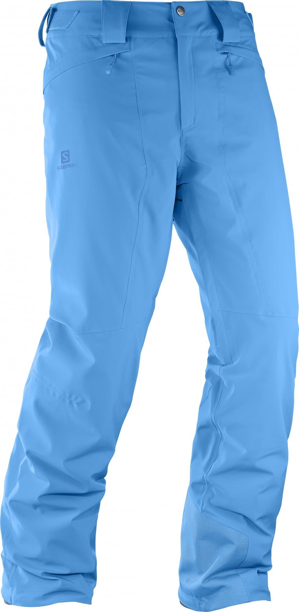 Salomon Icemania Pant (Modell Winter 2017) Blau, Male Hose, S/R
