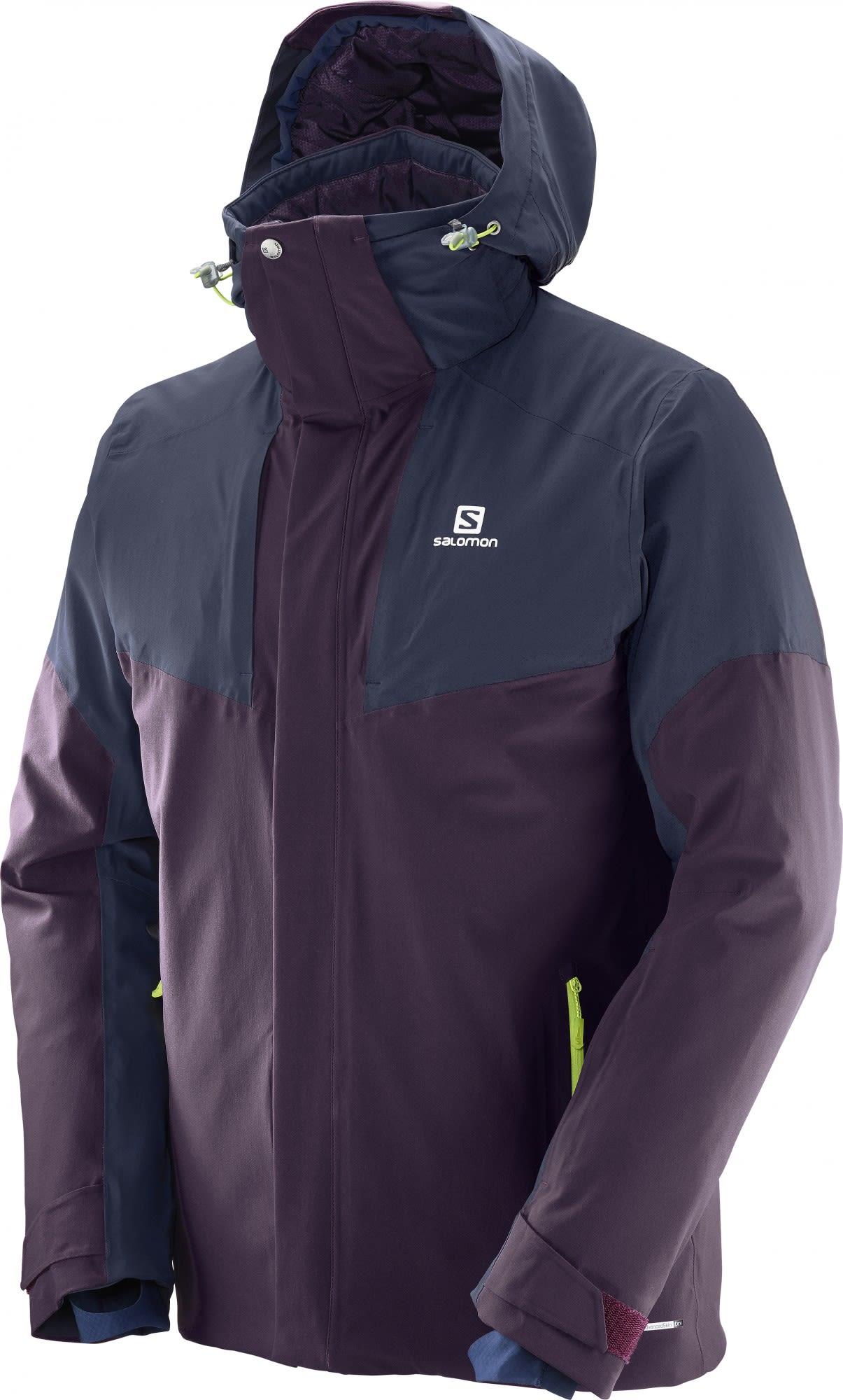 Salomon M Icerocket Jacket (Modell Winter 2017) | Herren Freizeitjacke