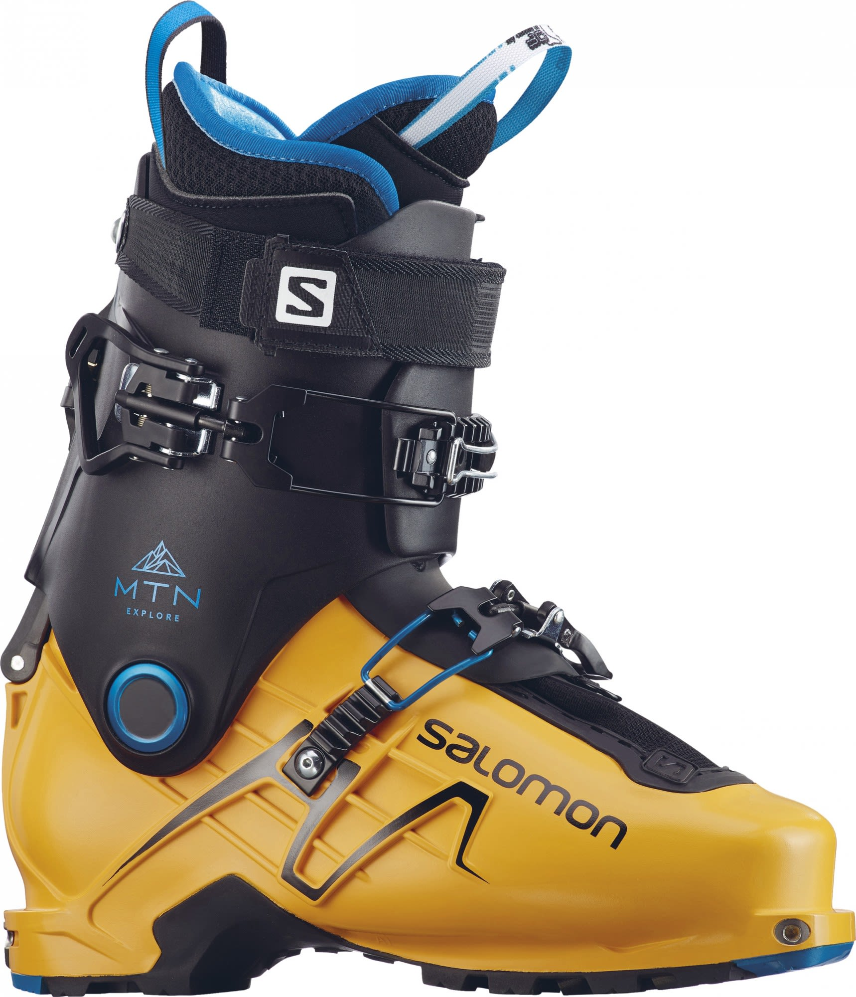 Salomon Mountain Explore (Modell Winter 2017) Schwarz, EU 41 -Farbe Safran -Blac