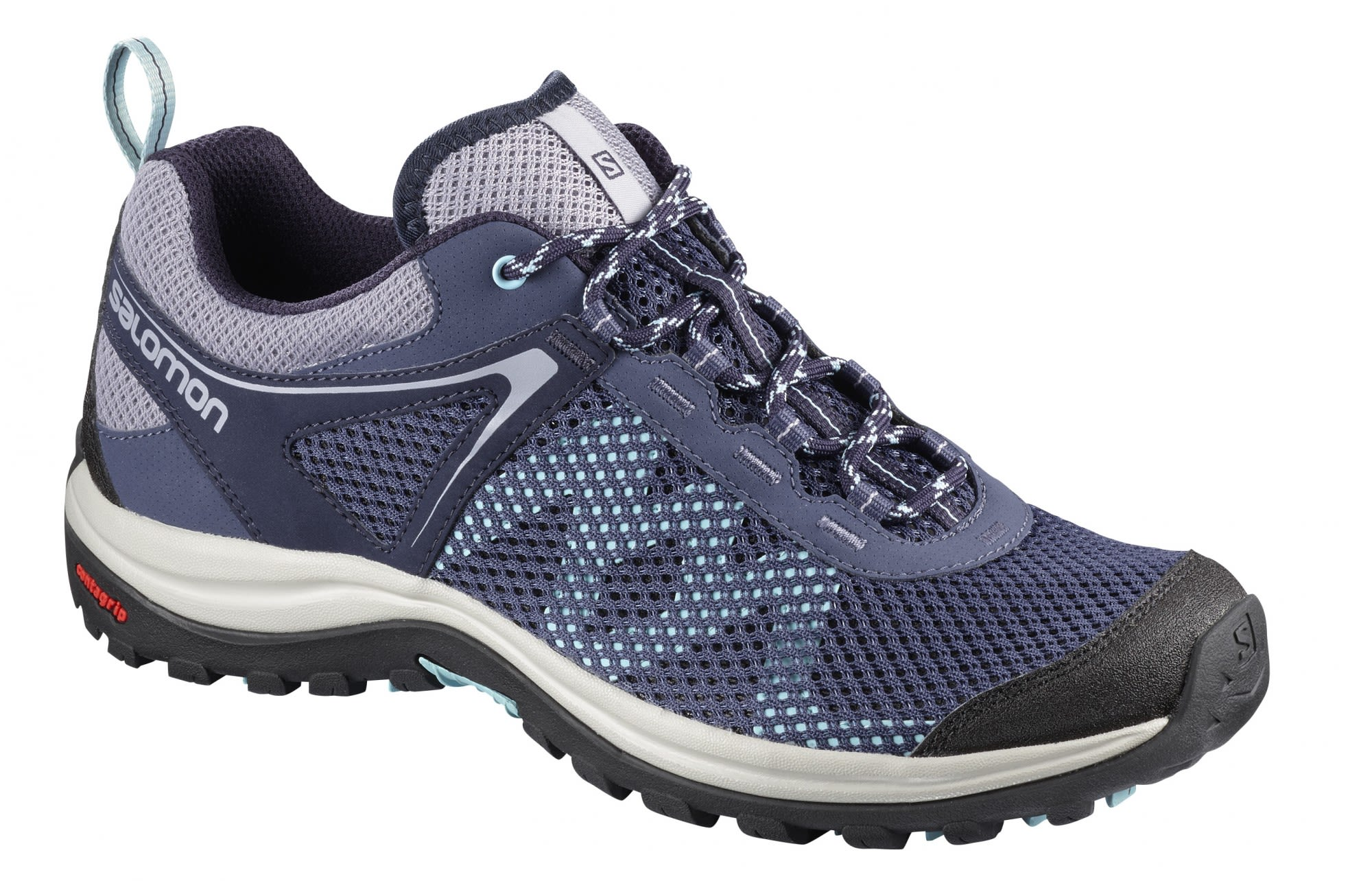 Salomon Ellipse Mehari Blau, Female EU 42 -Farbe Crown Blue -Evening Blue -Canal