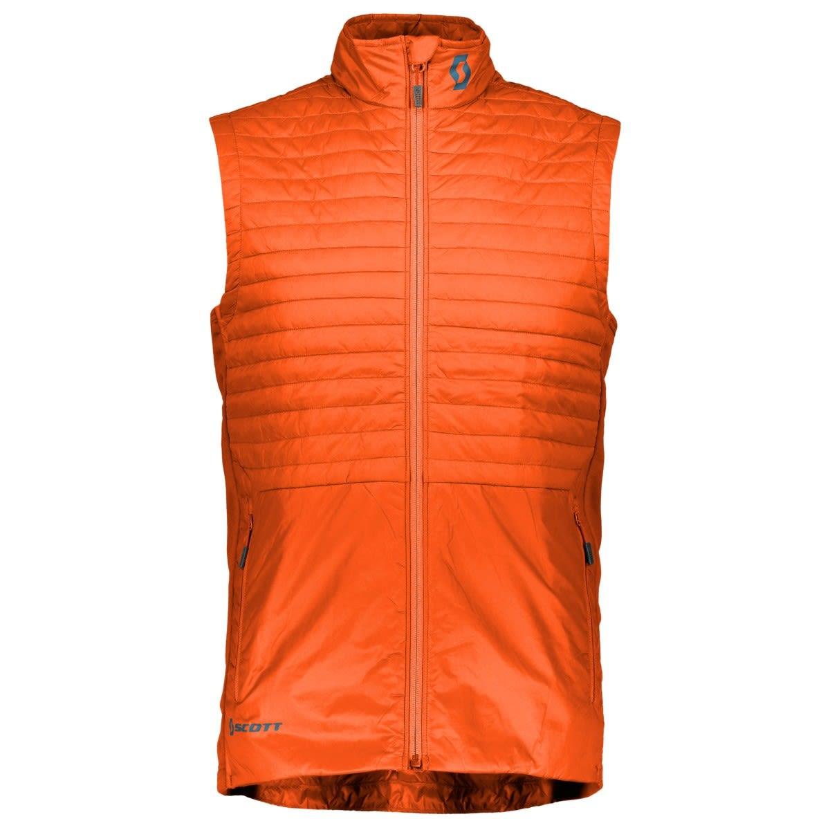 Scott M Insuloft Light Vest, Moroccan Red | Herren Isolationsweste