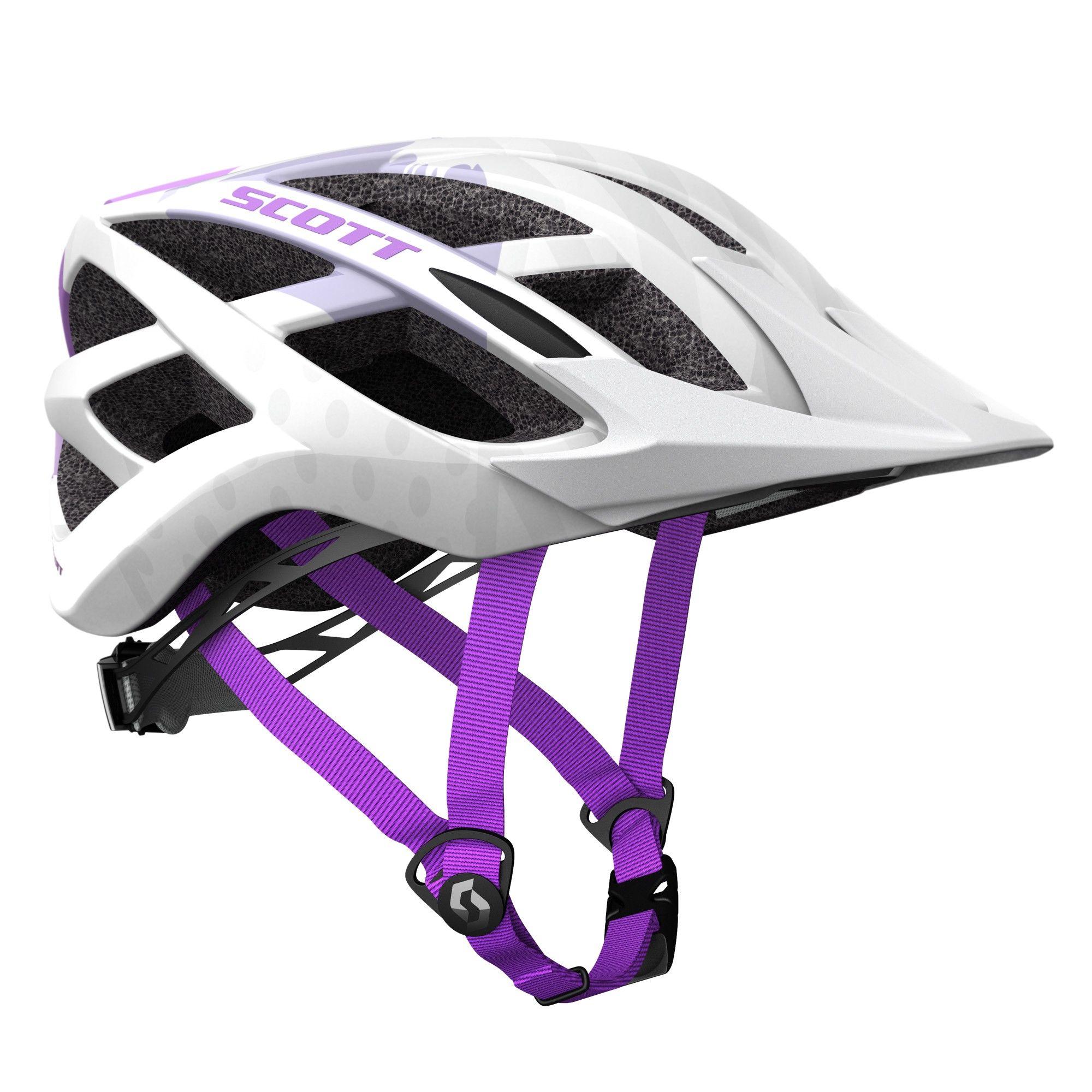 Scott Spunto Helmet, White Lila/Violett, One Size