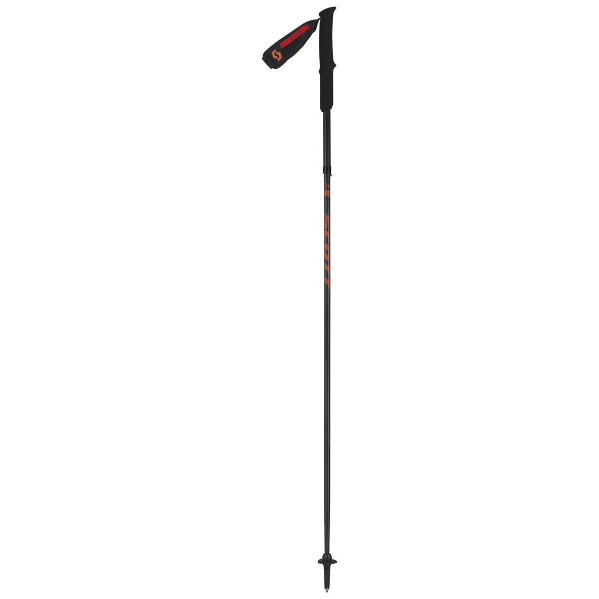 Scott Trail Carbon Pole Schwarz, Wander-& Trekkingstock, 130 cm