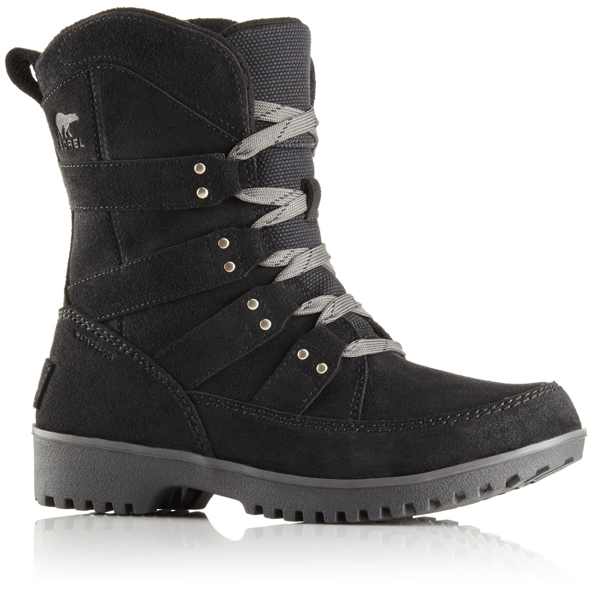 Sorel Meadow Lace Schwarz, Female EU 36 -Farbe Black, 36