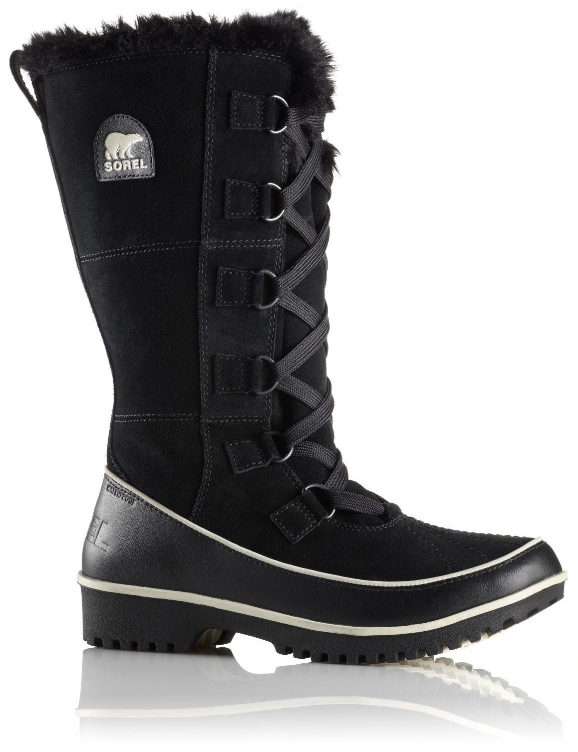 Sorel W Tivoli High II, Black | Größe US 6 / UK 4 / EU 37,US 5.5 / UK 3.5 / EU