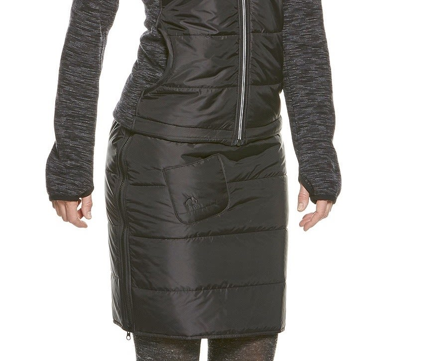 Tatonka Carli Skirt Schwarz, Female Thinsulate™ Röcke, 42