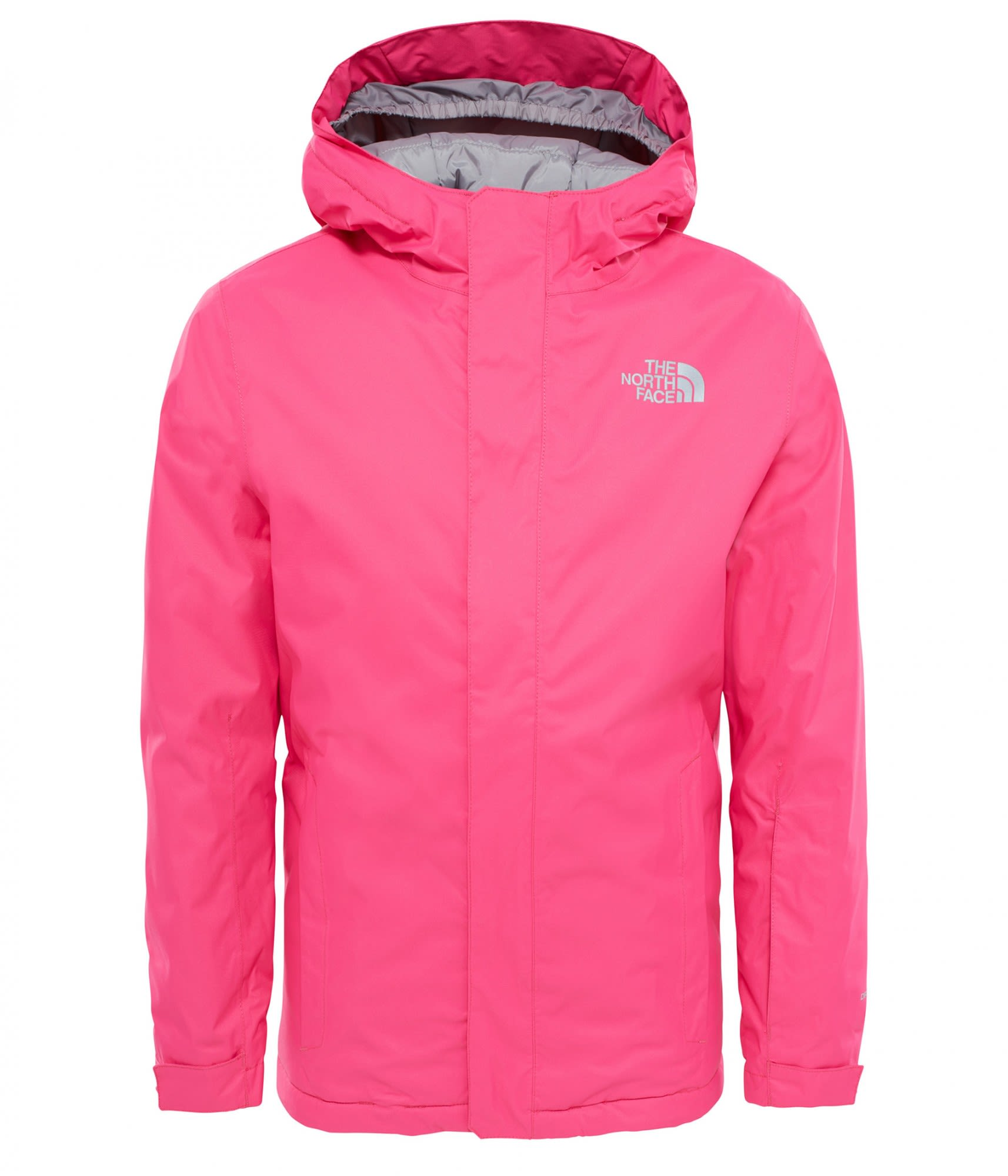 The North Face Youth Snowquest Jacket Pink, Isolationsjacke, XS