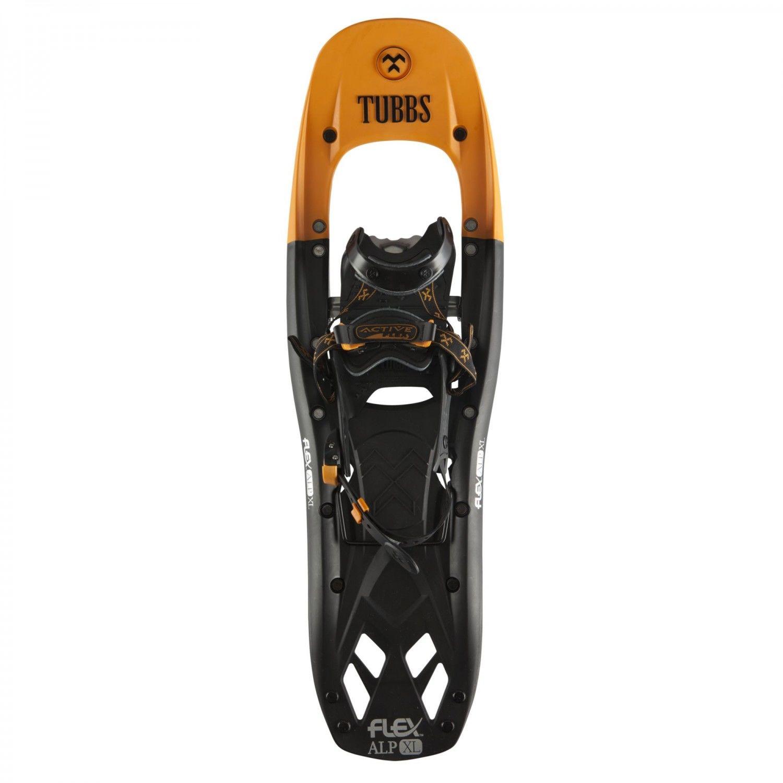 Tubbs Flex Alp XL Snowshoe Schwarz, Male 28 Zoll -Farbe Black -Orange, 28 Zoll