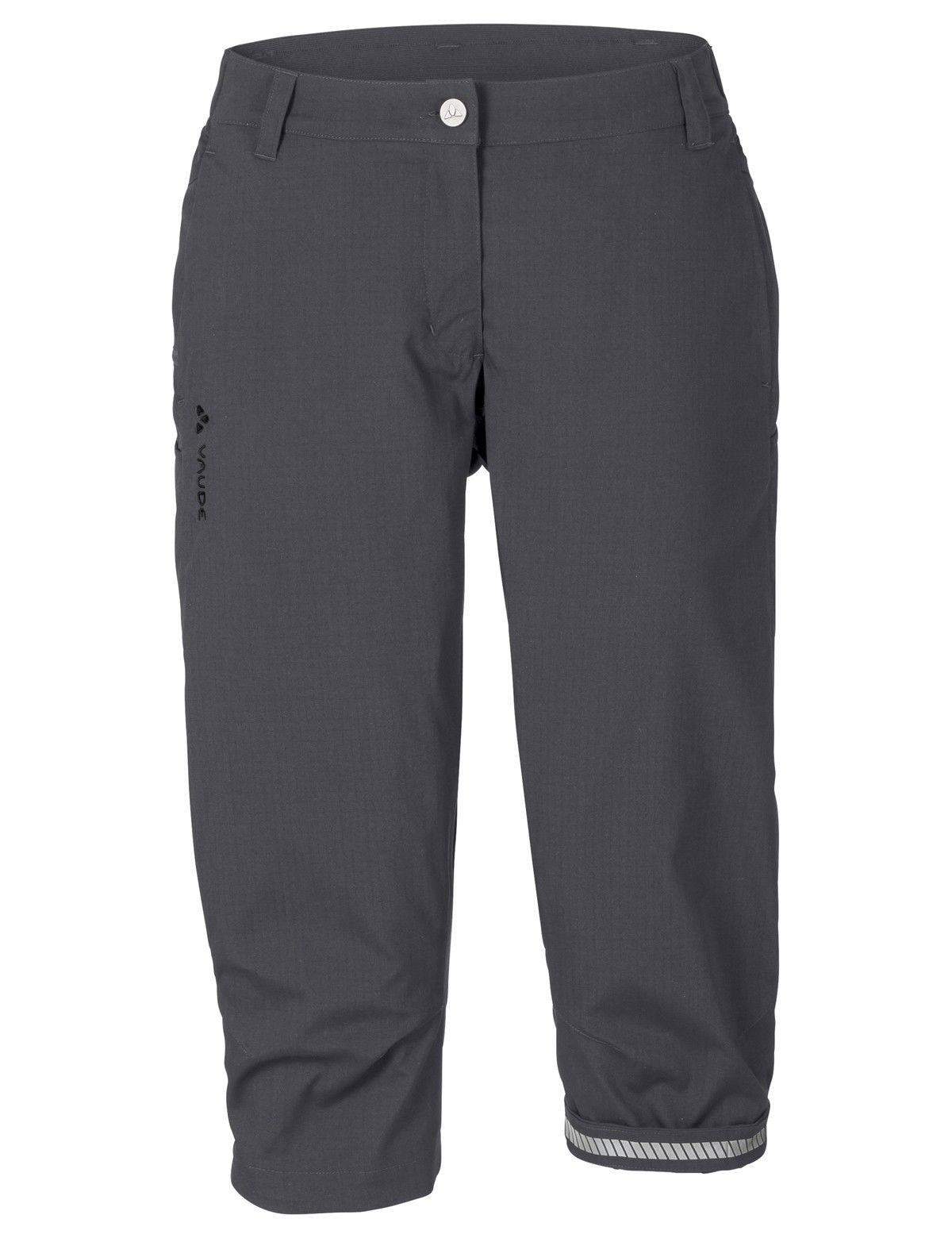 Vaude Krusa 3/4 Pants Grau, Female Hose, 44