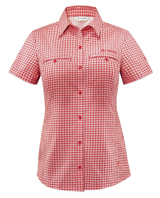 Vaude Kungs Shirt Kariert, Female Kurzarm-Hemd, 40