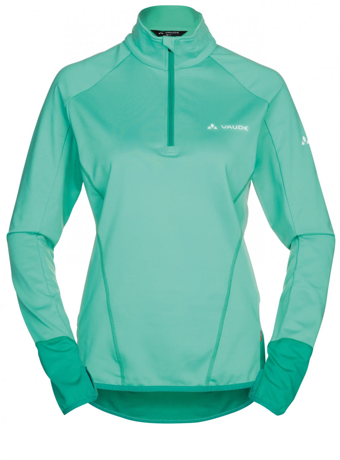 Vaude Livigno Halfzip (Modell Winter 2017) Grün, Female Fleece-& Powerstretch-P