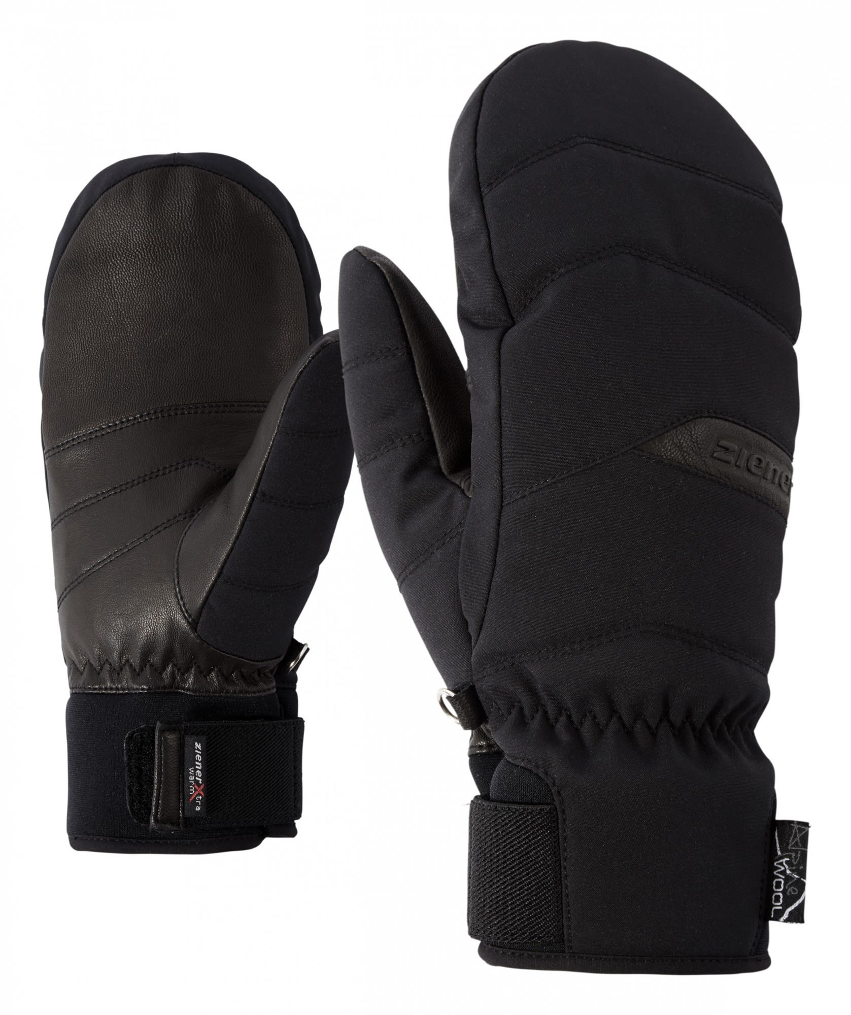 Ziener Komilla AS AW Mitten (Modell Winter 2017) Schwarz, Female Accessoires, 6.