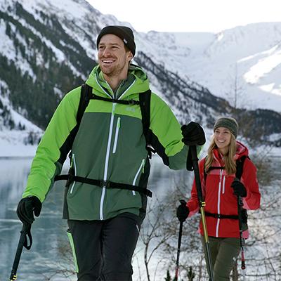 Jack Wolfskin Winterwanderung