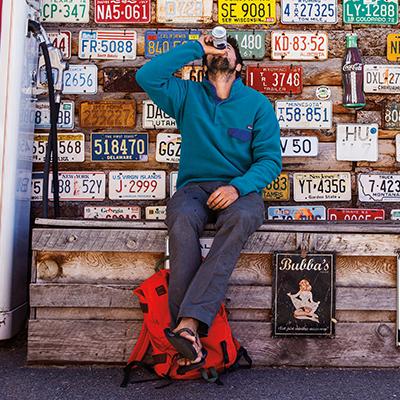 Der Patagonia Snap-T Fleece-Pullover