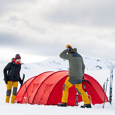 Bergans-Ausrüstung für Expeditionen