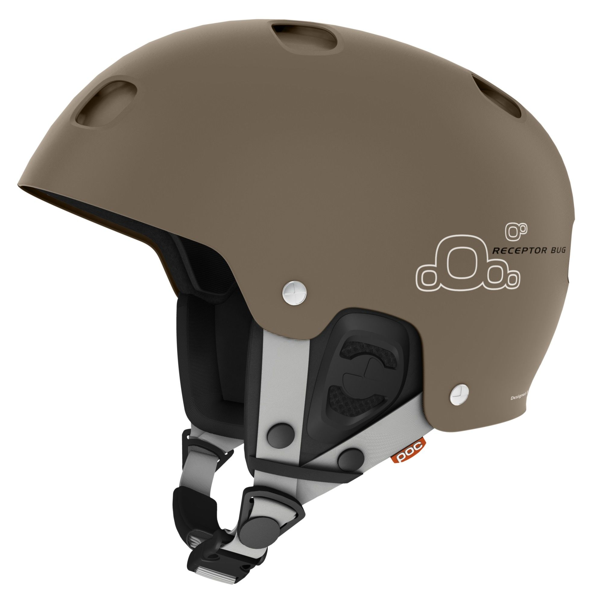 POC Receptor BUG Braun, Ski-& Snowboardhelm, S
