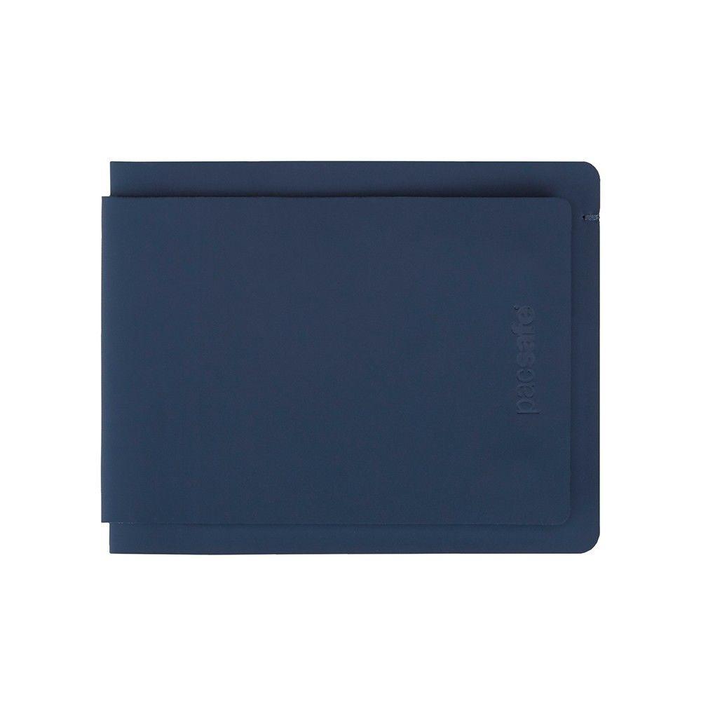 Pacsafe Rfidsafe Tec Bifold Plus Blau, Geldbörsen, One Size